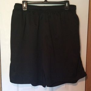 Starter shorts with gray stripe on sides